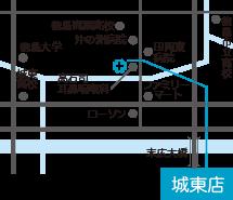 ひかり薬局 城東店 地図