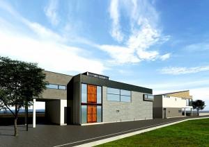 HP新社屋