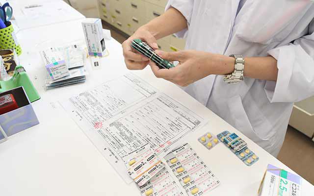 調剤業務(外来)・服薬指導・薬歴⼊⼒<